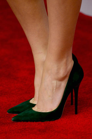 Reese Witherspoon Famous Feet High Heels On The Red