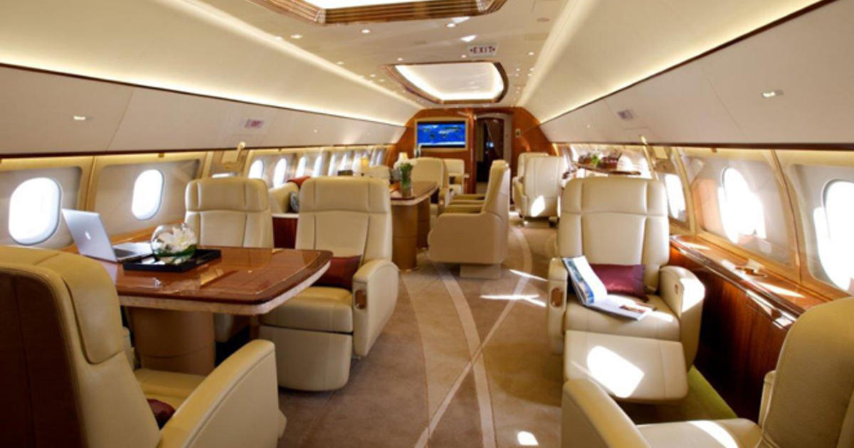How todays megawealthy fly the friendly skies  CBS News