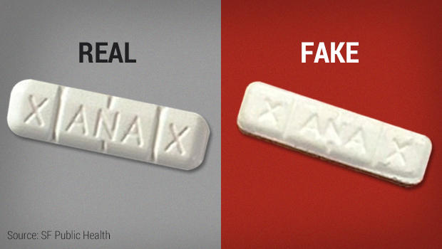Fake Xanax blamed for womans death  CBS News