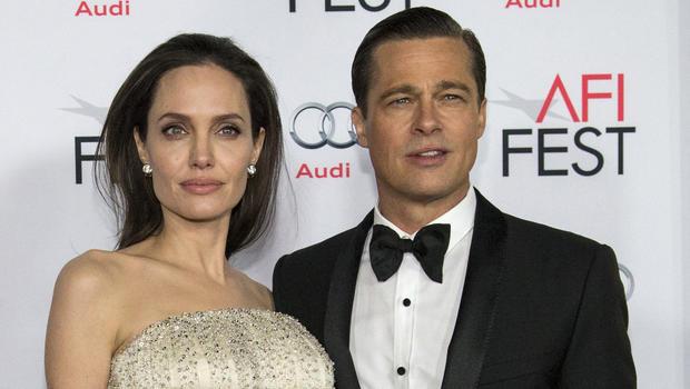 Image result for Angelina Jolie Files for Divorce From Brad Pitt