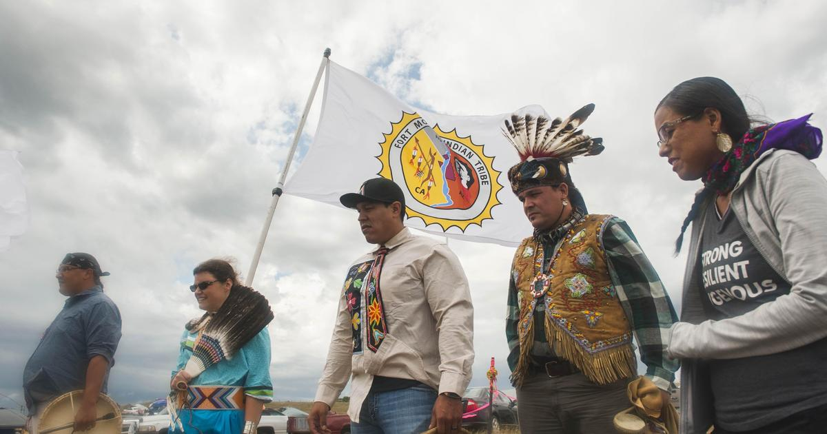 Standoff in the Great Plains as Native Americans fight