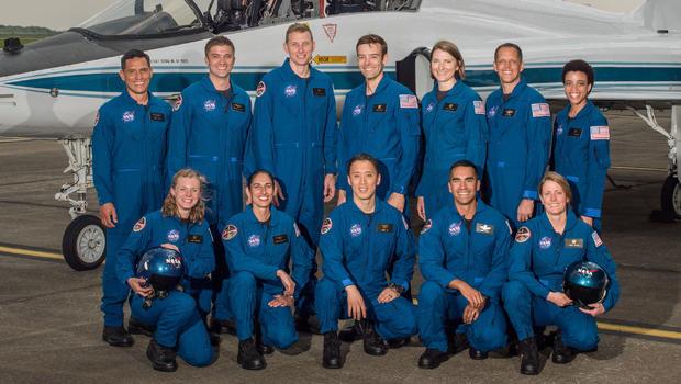 NASA introduces 12 new astronauts  CBS News