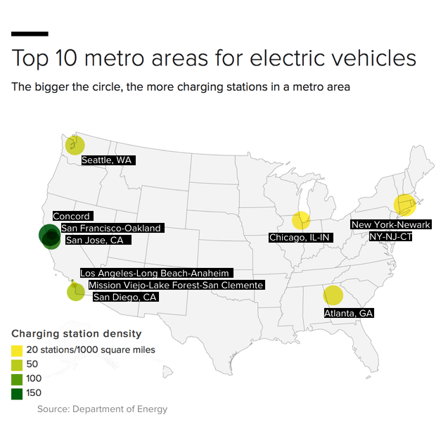 Is your city ready for the switch to electric vehicles