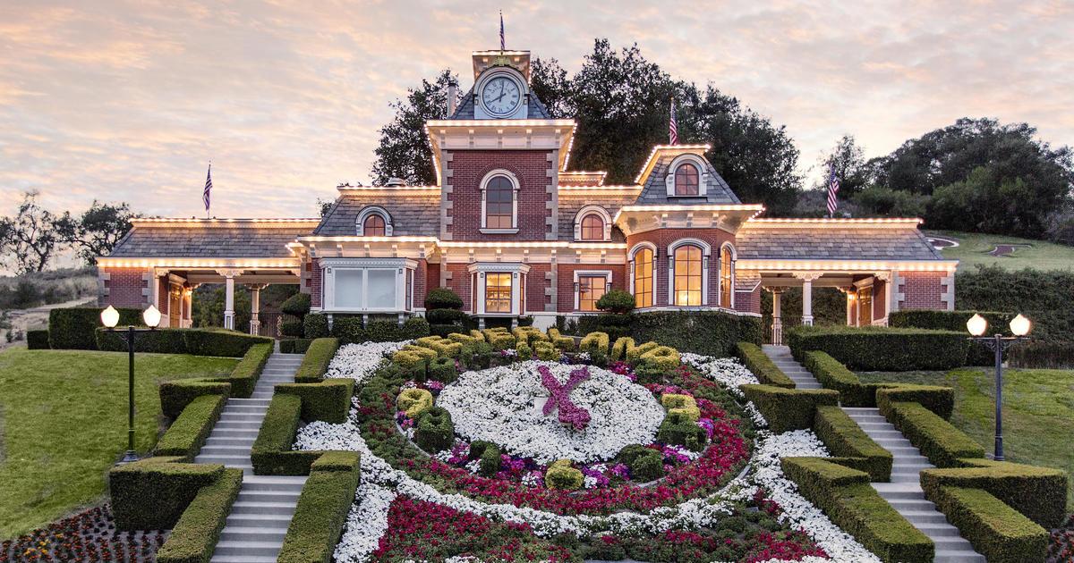 Neverland ranch for sale Michael Jacksons former home back on market for 31 million  CBS News