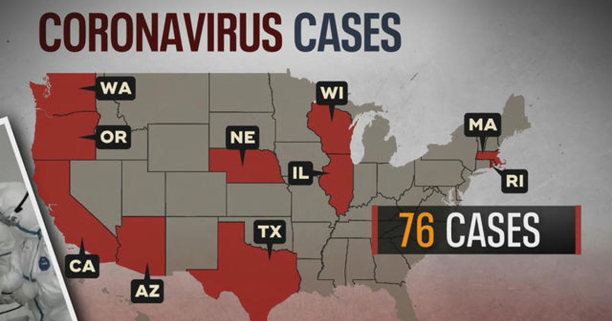 Coronavirus reaches 12 states with first cases in New York and Florida