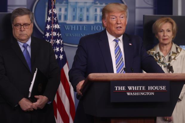 Cory Gardner Donald Trump — coronavirus task force