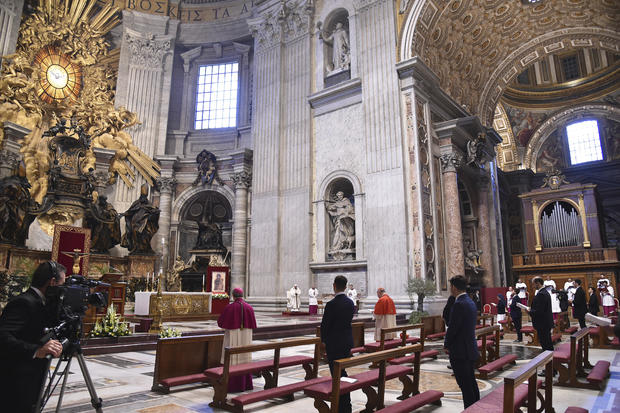 Vatican Easter virus epidemic