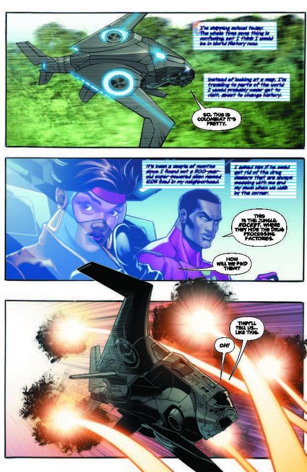 Milestone Comics: Icon and Rocket