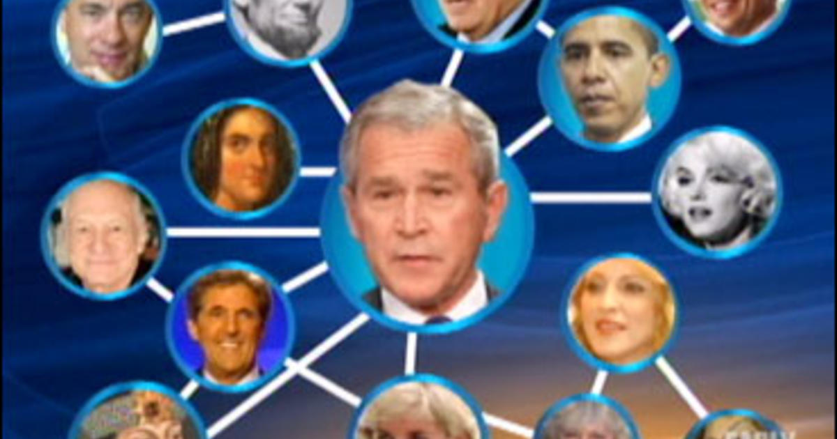 Bushs Famous Family Tree CBS News