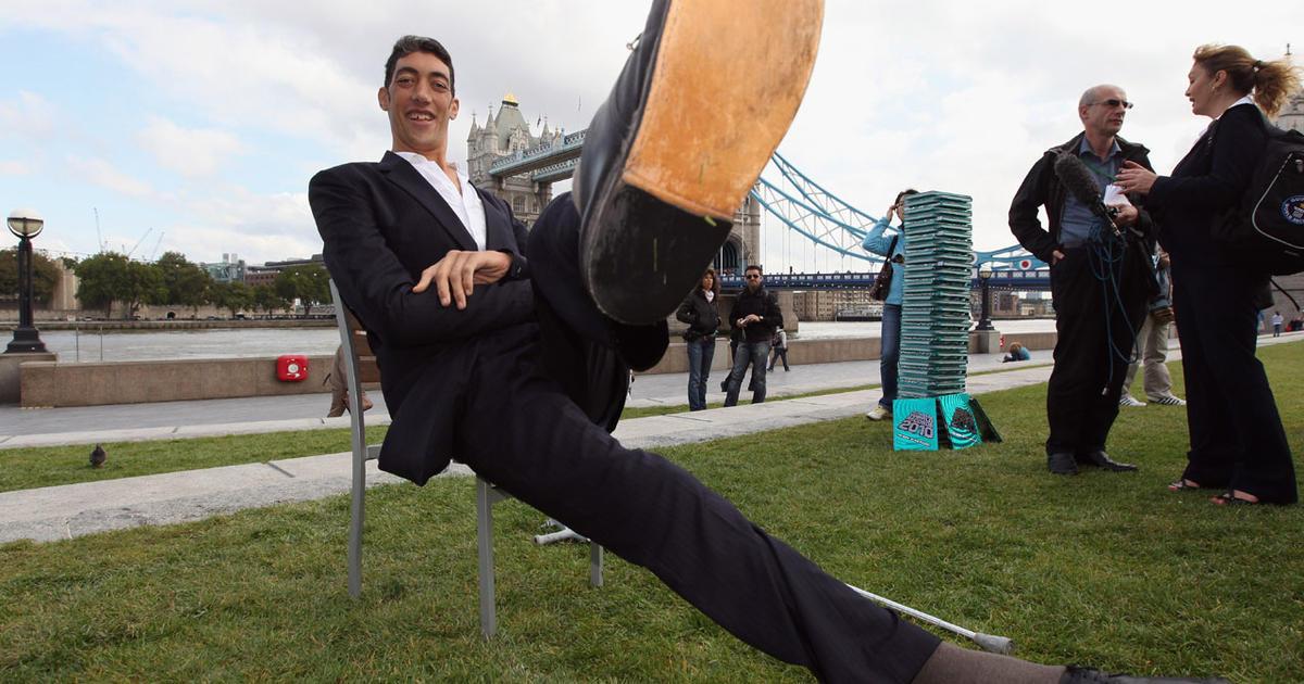 world s tallest man