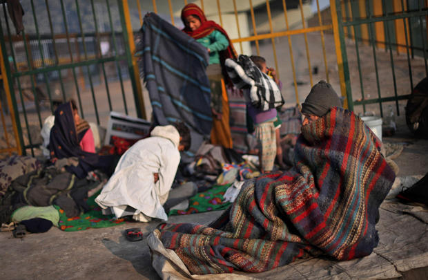Cold and homeless in India  Photo 2  Pictures  CBS News