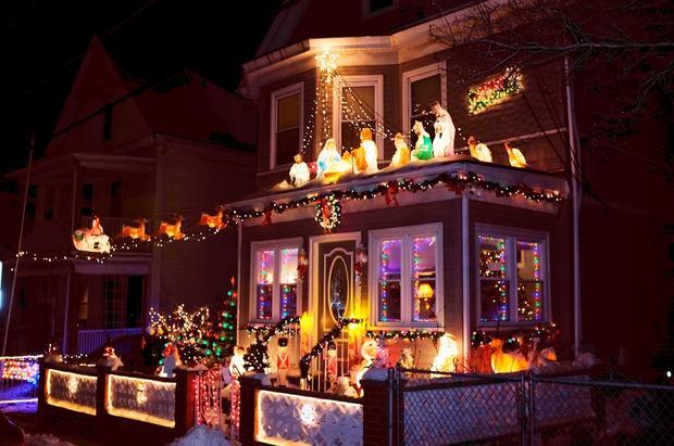 The 5 Best US Neighborhoods For Holiday Lights CBS News