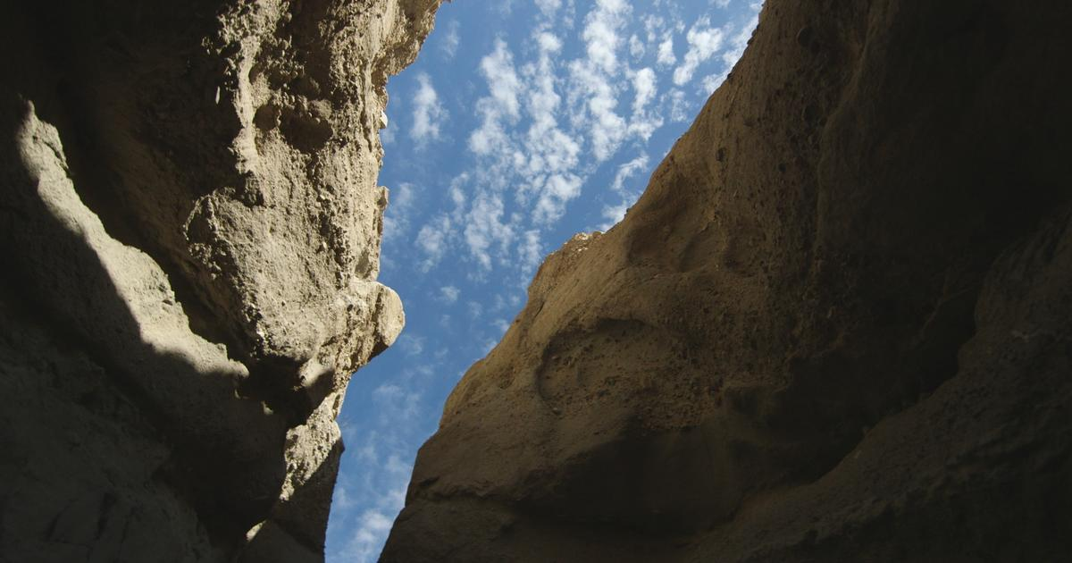 Take a hike inside the San Andreas Fault zone  CBS News