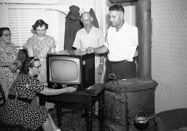 Yours for 100 in 1945  The evolution of the television