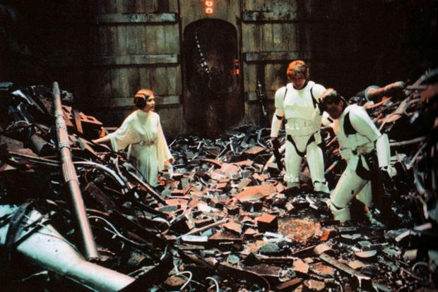Image result for garbage compactor star wars