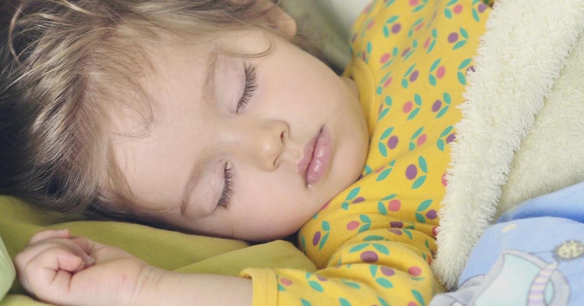 New sleep guidelines for babies kids and teens CBS News