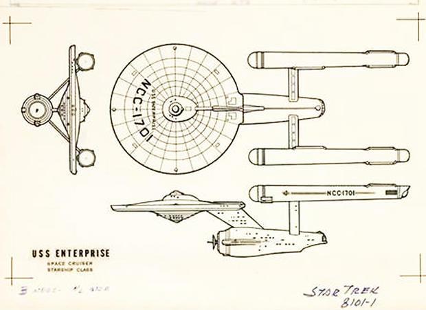 uss enterprise diagram 2001 vw jetta 2 0 engine beauty shot evolution of the starship pictures cbs news