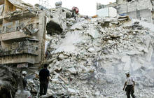 """""""Slaughterhouse"""" conditions in besieged city of Aleppo"""
