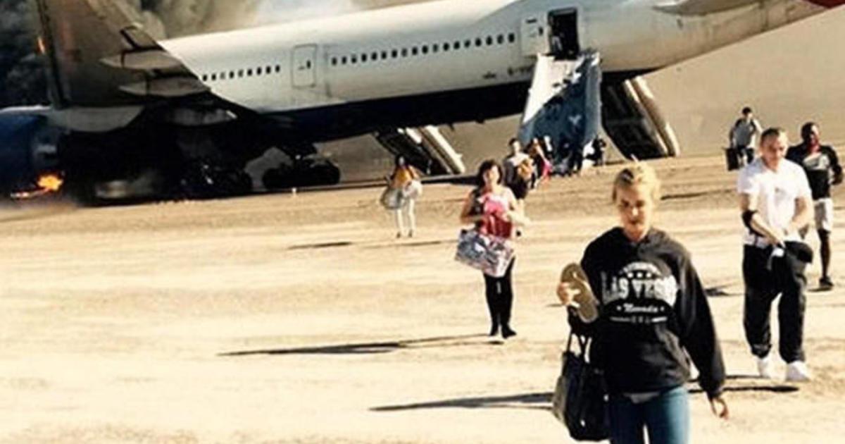 In Emergency Plane Evacuation Leave Everything Behind