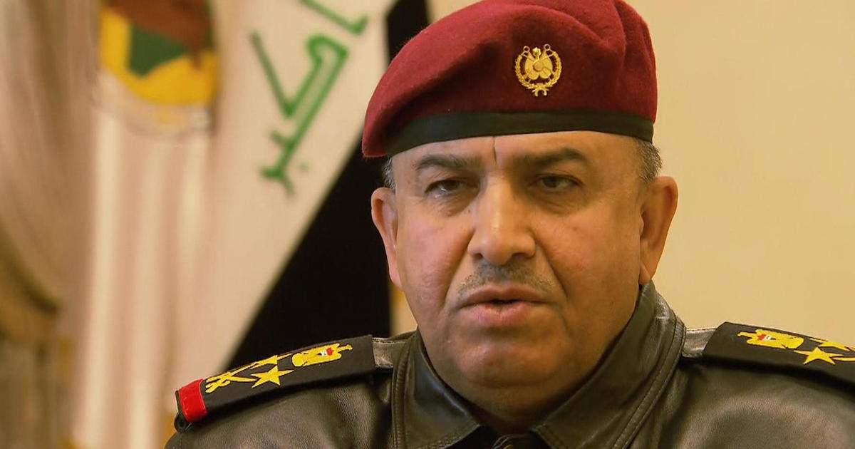 Image result for Iraqi military official Gen. Talib al-Kenani