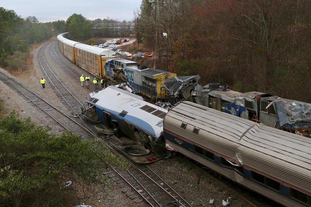 APTOPIX Train Crash South Carolina