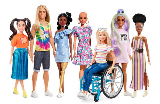 Diverse Barbie Collection