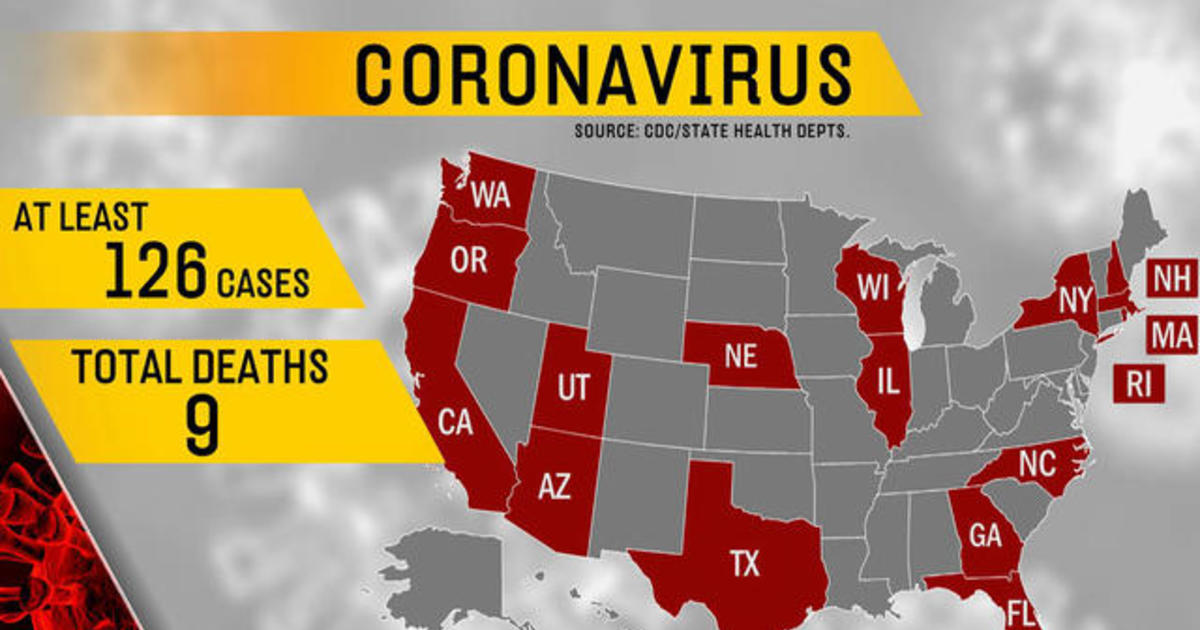 Coronavirus death toll rises in U.S. - CBS News