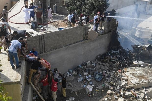 Pakistan Plane Crash In Karachi Today Pakistan