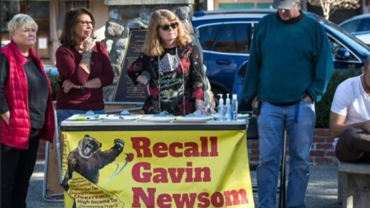 California Republicans launch campaign challenges against Governor Gavin Newsom 2/10/21