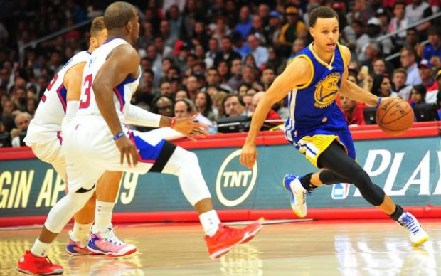 Remember when Steph crossed up Chris Paul?