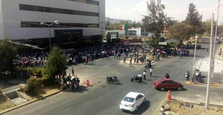 """MORELIA Trasladan a los 29 """"centistas"""" detenidos en Tres Puentes ante un Juez de Control"""