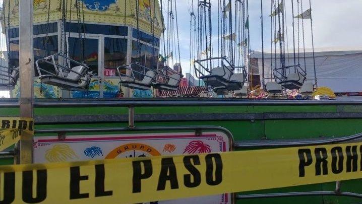 Falla en 'sillas voladoras' deja 11 heridos en Hidalgo