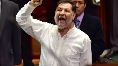 """Photo of Silvano Aureoles, """"un represor y corrupto"""": Noroña"""