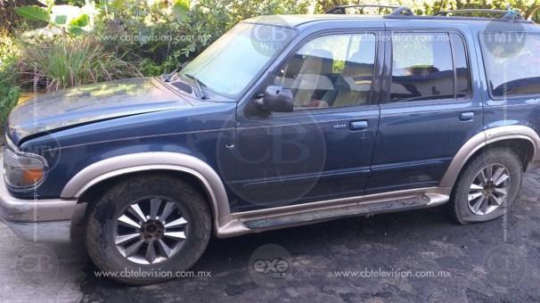Un detenido y tres vehículos asegurados, resultado de acciones operativas de la Policía Michoacán Uruapan