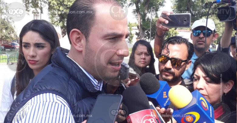 Marko Cortés solicitó continuar coalición en Puebla