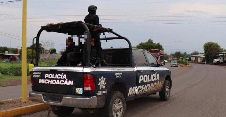 Tras persecución y tiroteo Policías detiene a 4 pistoleros en Uruapan