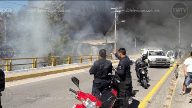 Photo of Se incendia negocio de autopartes