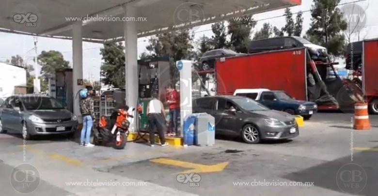 A cuenta gotas, abastecimiento de gasolina en Morelia