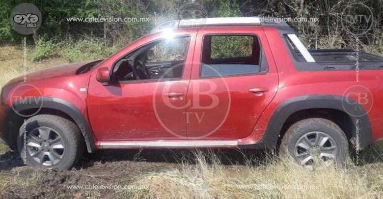 Policía Michoacán recupera camioneta robada a diputado de Morena