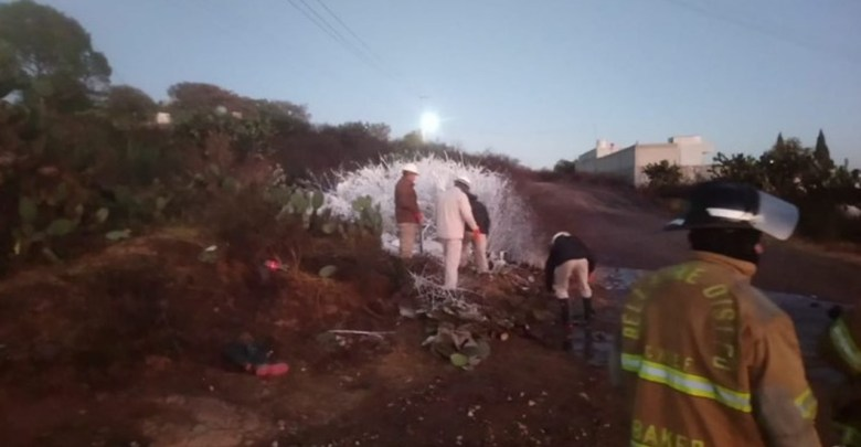 Desalojan a 200 habitantes por fuga de hidrocarburo en Hidalgo