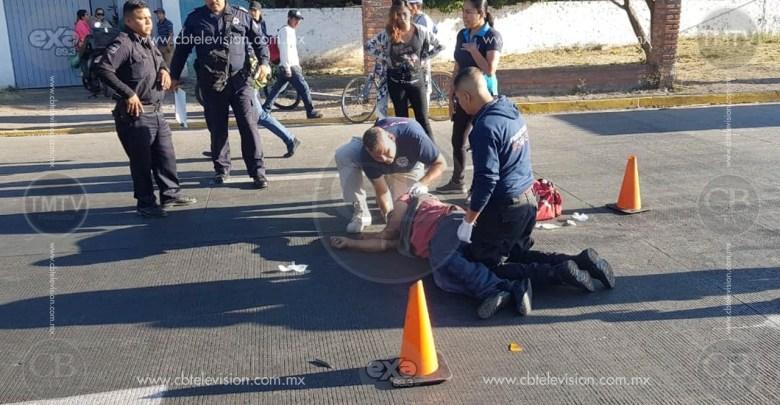 Anciano queda malherido al ser atropellado en Zamora