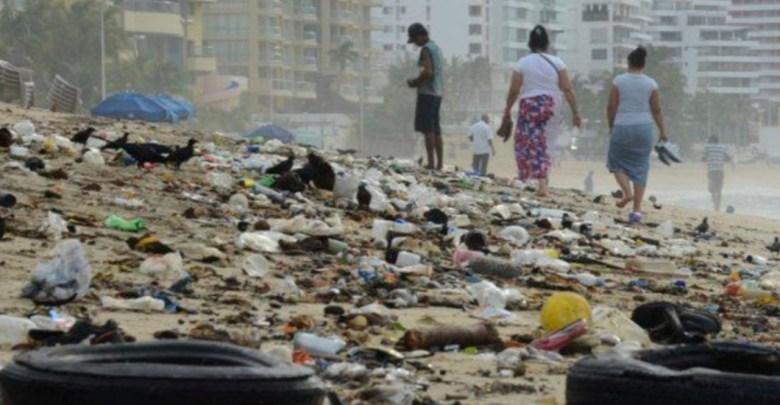 Después de Semana Santa recogen 400 toneladas de basura en Acapulco