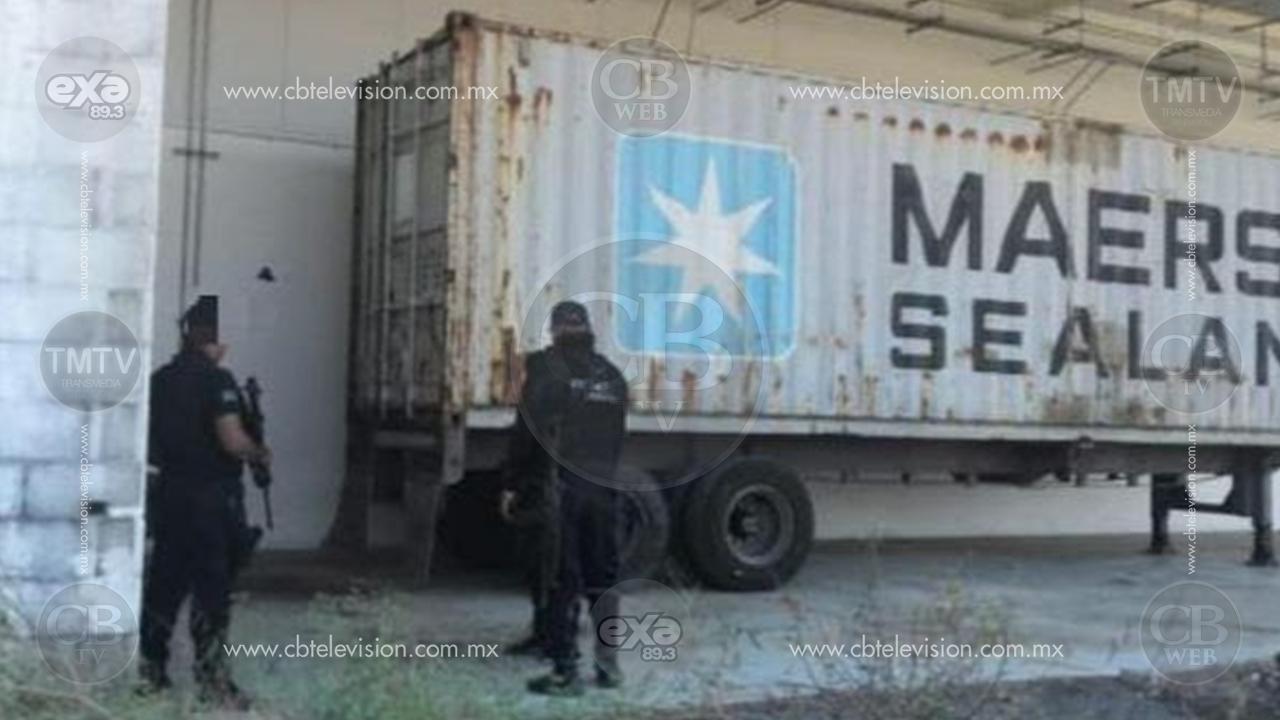 Recuperan vehículo, contenedor y remolque con 7 toneladas de mercancía, robados