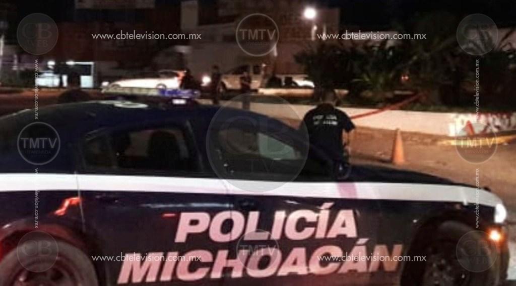 Se desata persecución y balacera entre policías y delincuentes en Lázaro Cárdenas