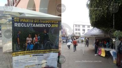 Photo of Se instalan modulos en Zitácuaro y Apatzingán para reclutar policías de la SSP