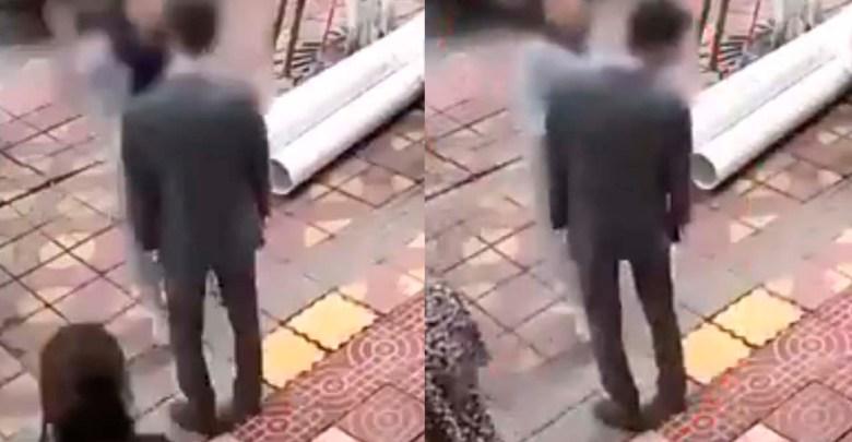 Video: Mujer hace berrinche porque su novio no le compró un celular y lo cachetea