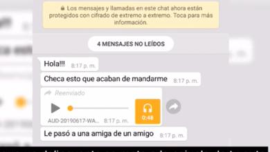 Alertan por audios de WhatsApp falsos donde revelan, supuestamente, una nueva forma de robo