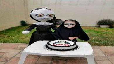 """Niña mexicana celebra su cumpleaños con fiesta temática de """"La Monja"""""""