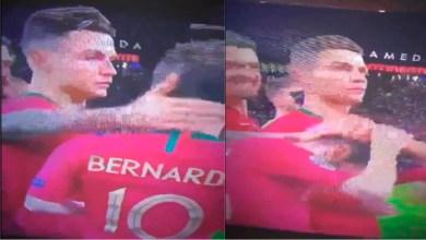 Video: La reacción viral de Cristiano al enterarse que no es el MVP de la Nations League