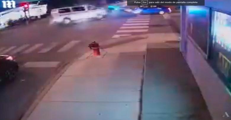 Video: Vehículos de la policía chocan y matan a una abuelita